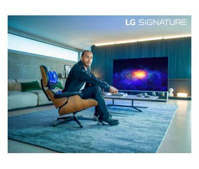 Lewis Hamilton : Ambassadeur mondial de la marque LG Signature