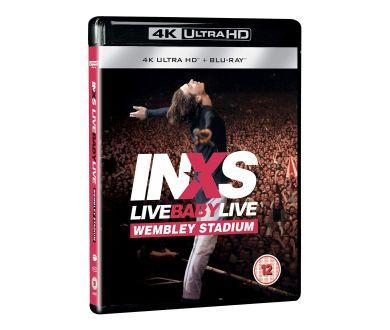 Live Baby Live (1991) de INXS en 4K Ultra HD Blu-ray le 26 juin