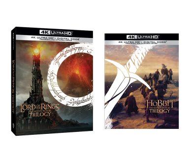 Le Seigneur des Anneaux et Le Hobbit en 4K Ultra HD Blu-ray : Annonces officielles