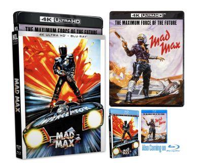 MAJ : Mad Max (1979) le 24 novembre aux USA en 4K Ultra HD Blu-ray