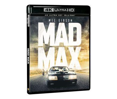 Les 3 premiers volets de la saga Mad Max aperçus en 4K Ultra HD Blu-ray (novembre)
