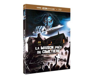 La Maison près du Cimetierre de Lucio Fulci en France en 4K Ultra HD Blu-ray dès décembre