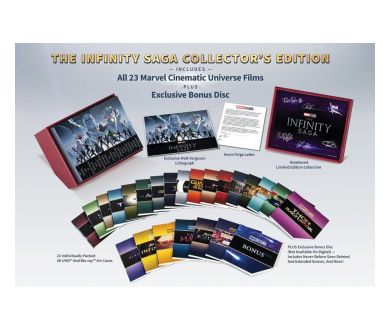 Marvel : Un coffret intégrale MCU 4K Ultra HD Blu-ray le 15 novembre