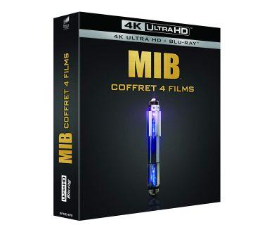 Men In Black en coffret (4 Films) 4K Ultra HD Blu-ray le 2 septembre