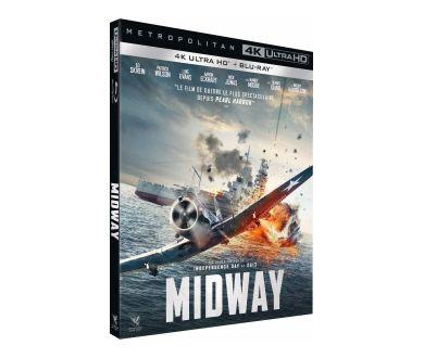 MAJ Visuel : Midway : le 6 mars 2020 en France en 4K Ultra HD Blu-ray