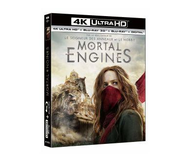 Mortal Engine en Steelbook 4K Ultra HD Blu-ray le 7 juillet 2021