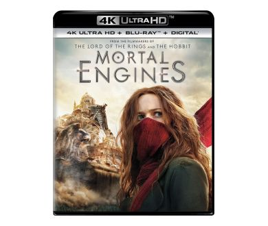 Mortal Engines en 4K Ultra HD Blu-ray en avril prochain chez Universal