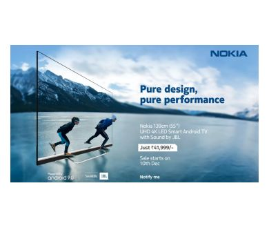 Nokia : Un premier téléviseur Android TV Dolby Vision lancé en Inde