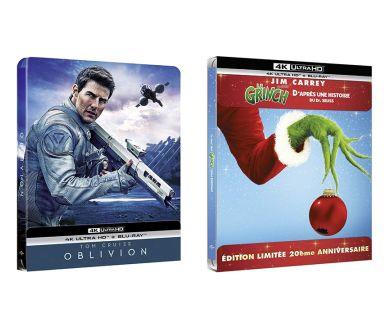 MAJ : Le Grinch et Oblivion en Steelbook 4K Ultra HD Blu-ray en décembre en France