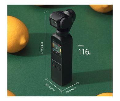 Osmo Pocket : DJI apporte le firmware v1.4.0.20 et le profil D-Cinelike