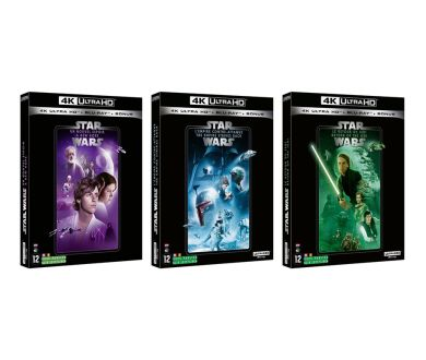 Trilogie Originale Star Wars : Nos tests 4K Ultra HD Blu-ray sont disponibles !