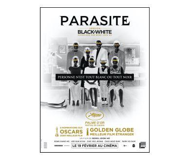 Parasite : De retour au cinéma en Noir et Blanc à partir du 19 février