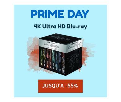 PRIME DAY : Jusqu'à -55% sur une sélection de 4K Ultra HD Blu-ray