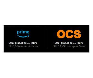 OCS débarque sur Amazon Prime Video Channels avec un essai gratuit de 30 jours