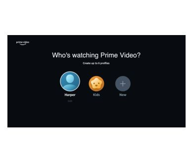Amazon Prime Video : Introduction des profils d'utilisateurs