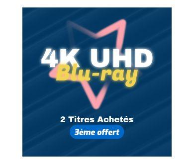 NOUVEAU - Jusqu'au 24 mai : 2 Blu-ray 4K achetés = le 3ème offert
