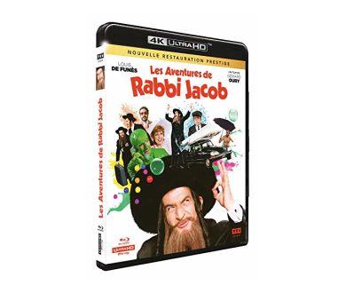 Les Aventures de Rabbi Jacob : Détails de l'édition 4K Ultra HD Blu-ray