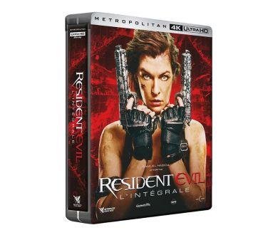 MAJ : La saga Resident Evil en coffret 4K Ultra HD Blu-ray le 24 novembre en France