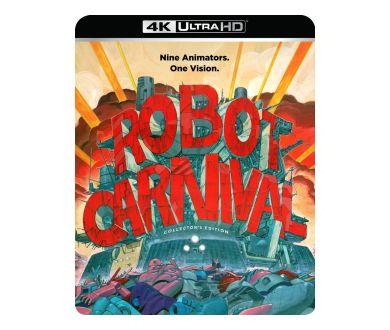 Robot Carnival pour la première fois en 4K Ultra HD Blu-ray le 28 décembre aux USA