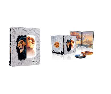 Le Roi Lion : Edition Steelbook 4K Ultra HD Blu-ray également en France