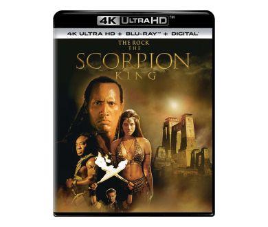 Le Roi Scorpion : Une édition 4K Ultra HD Blu-ray dès le 18 juin aux USA