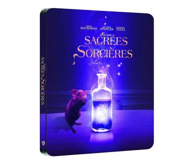 MAJ : Sacrées Sorcières (2020) de Robert Zemeckis en Blu-ray Steelbook le 21 avril 2021