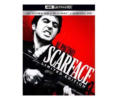 MAJ PRECO : Scarface, Casino et American Gangster en 4K Ultra HD Blu-ray en France en octobre