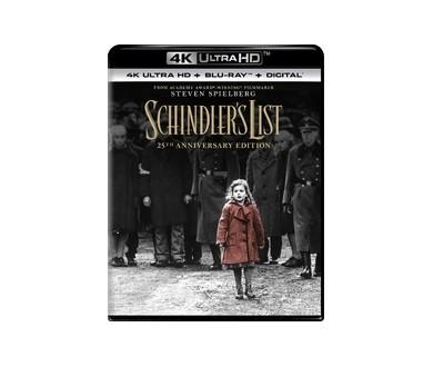 MAJ Précommandes : La Liste de Schindler : L'édition 4K Ultra HD Blu-ray en France en mars !