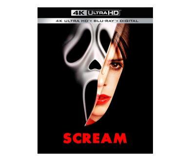 Scream (1996) aperçu en 4K Ultra HD Blu-ray pour son 25ème anniversaire