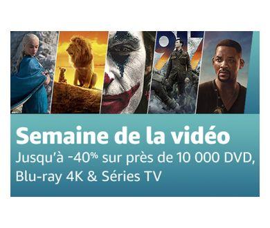 Semaine du Black Friday : 4K Ultra HD Blu-ray à prix cassé