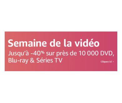 DERNIER WEEK-END : Semaine de la Vidéo (Sélection 4K Ultra HD Blu-ray)