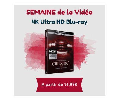 Semaine de la Vidéo : D'importantes éditions 4K Ultra HD Blu-ray à prix cassé
