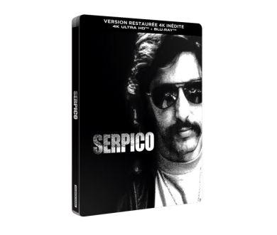 Serpico (1973) en Steelbook 4K : Sortie officielle en France le 18 novembre chez Studiocanal