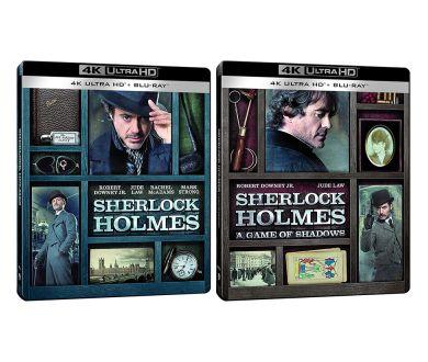 Sherlock Holmes : Les deux films de Guy Ritchie prochainement en 4K Ultra HD Blu-ray