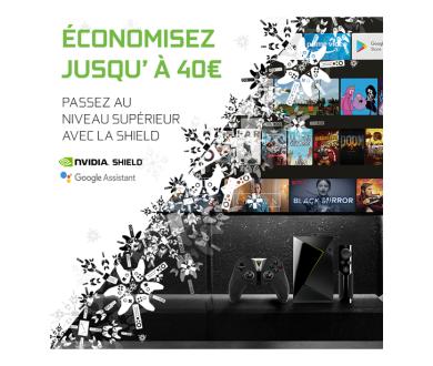 NVIDIA : 40 euros de remise sur la SHIELD TV jusqu'au 26 décembre