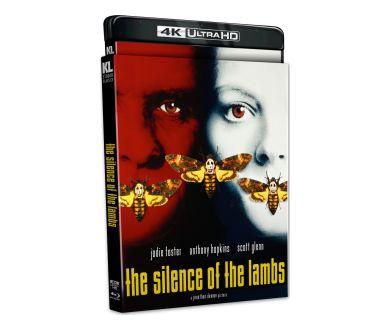 Le Silence des Agneaux (1991) officialisé aux USA en 4K Ultra HD Blu-ray