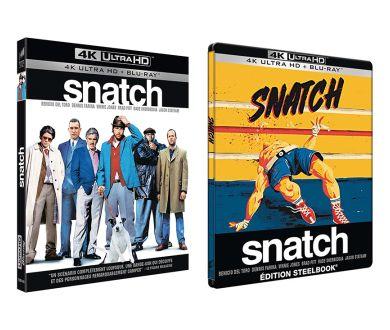 Snatch (2000) officialisé en 4K Ultra HD Blu-ray : Tous les détails !