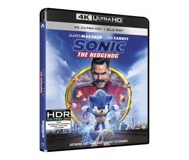 Sonic, Le Film déjà aperçu en 4K Ultra HD Blu-ray chez Paramount