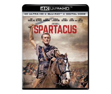 MAJ France : Sortie officielle de Spartacus (1960) en 4K Ultra HD Blu-ray