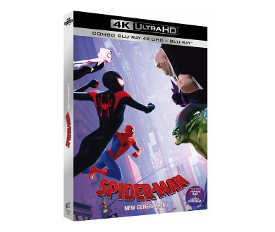 MAJ PRECO : Spider-Man: New Generation déjà aperçu en 4K Ultra HD Blu-ray