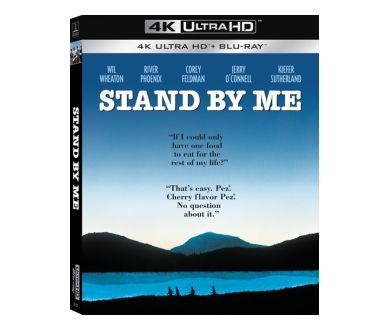 Stand by Me (1986) : Le film culte de Rob Reiner officialisé en 4K Ultra HD Blu-ray