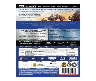Star Wars en 4K Ultra HD Blu-ray : Détails techniques et bonus dévoilés !