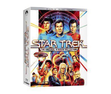 Star Trek : Les 4 films originaux à partir du 7 septembre en coffret 4K Ultra HD Blu-ray