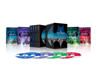 Version Steelbook confirmée pour l'Anthologie Batman au format 4K Ultra HD Blu-ray