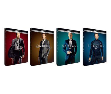 James Bond : les éditions 4K Blu-ray individuelles (Daniel Craig) reportées
