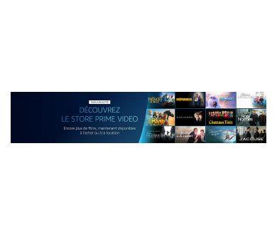 Amazon lance le Store Prime Video : Des nouveautés en VOD (location et achat)