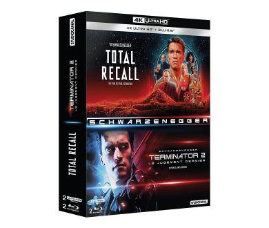 MAJ : Terminator 2 et Total Recall réunis dans un coffret 4K Ultra HD Blu-ray en septembre