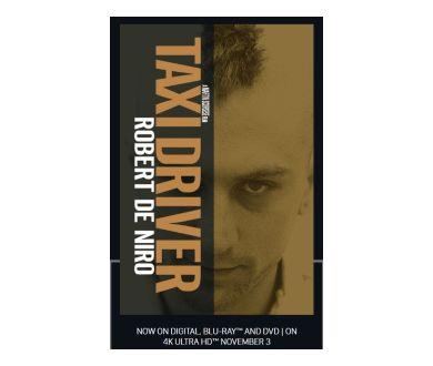 MAJ France : Taxi Driver de Martin Scorsese : Le 3 novembre en 4K Ultra HD Blu-ray