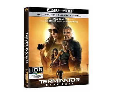 Terminator Dark Fate : Lancement des précommandes 4K Ultra HD Blu-ray