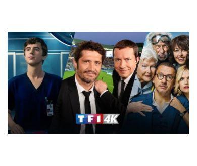 TF1 4K : Arrivée chez Orange et Bouygues Telecom le 23 août